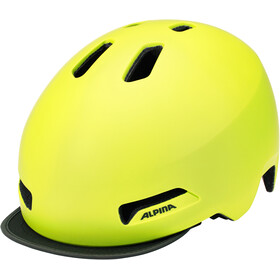 Alpina Brooklyn Helm gelb